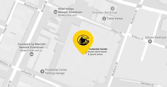 Mass Transit Information | Prudential Center Newark NJ
